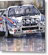 Lancia 037 Martini Rally 1983 Metal Print