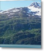 Land And Sea In Whittier Metal Print