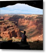 Land Of Canyons Metal Print