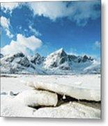Land Of Ice And Snow Metal Print