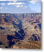 Land Of Many Canyons Metal Print