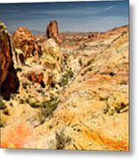 Land Of Sandstones Valley Of Fire Metal Print