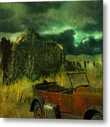 Land Rover Metal Print