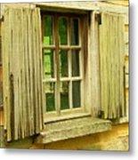 Landis Valley Window Metal Print