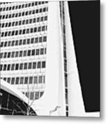 Landmark Square Facade Metal Print