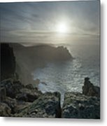 Land's End, Cornwall, England Metal Print