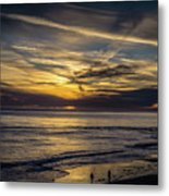 Lands End Sun Set  Metal Print