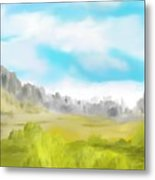 Landscape 040710 Metal Print