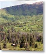 Landscape Alaska  Metal Print