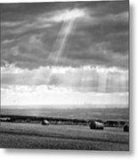 Landscape From Garrowby Hill, Yorkshire Uk Metal Print