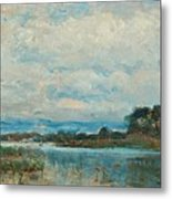 Landscape From The Surroundings Metal Print