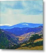 Landscape From Virginia Dale Metal Print