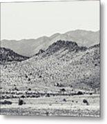 Landscape Galisteo Nm J10a Metal Print