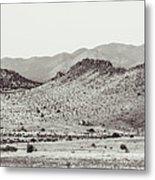 Landscape Galisteo Nm J10c Metal Print