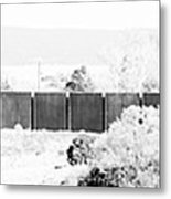Landscape Galisteo Nm J10g Metal Print
