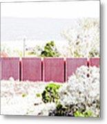 Landscape Galisteo Nm J10l Metal Print