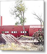 Landscape Galisteo Nm K10l Metal Print