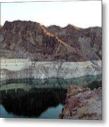 landscape in Hoover dam Metal Print