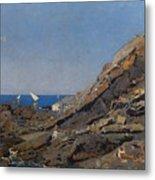 Landscape Marine Background Avendano Martinez, Serafin Metal Print