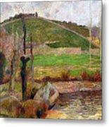 Landscape Near Pont-aven Metal Print