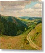 Landscape Near Schleiden In The Eifel Metal Print