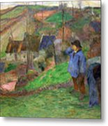 Landscape Of Brittany Metal Print