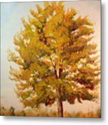 Landscape Oil Painting Metal Print