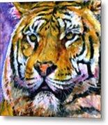 Landscape Tiger Metal Print