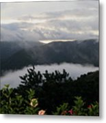 Landscape Tropical Metal Print