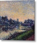 Landscape With A Lock 1885 Metal Print