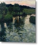 Landscape With A River Metal Print