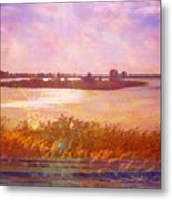 Landscape With Island 008 01 01 2016 Metal Print