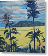 Landscape With Nettles Metal Print