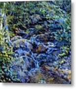 Landscape With Waterfall 1890 Metal Print
