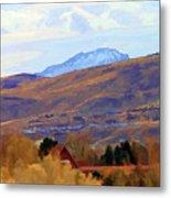 Landscape Wyoming State  Metal Print