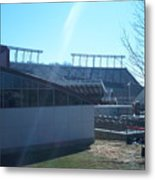 Lane Stadium Metal Print