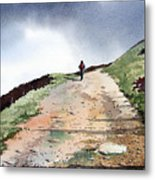 Lane To Quarry Pole Moor Metal Print