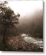 Langtang Morning Metal Print