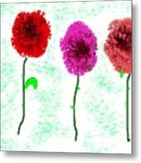 Language Of Flowers Metal Print