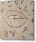 Language Of Speech Metal Print