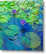 Languid Lagoon Metal Print