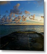 Lanikai At Sunrise Metal Print
