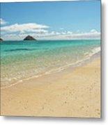 Lanikai Beach 4 - Oahu Hawaii Metal Print