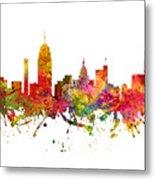 Lansing Cityscape 08 Metal Print
