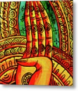 Offering, Lao Collection Metal Print