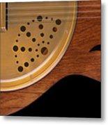 Lap Guitar I Metal Print
