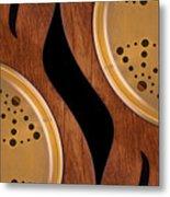 Lap Guitars        Metal Print by Mike McGlothlen