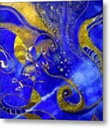 Lapis Lazuli Metal Print
