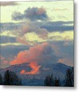 Wyoming Sunsets 1 Metal Print