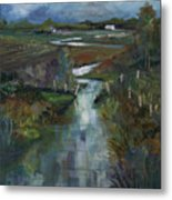 Laramie River Valley  Metal Print